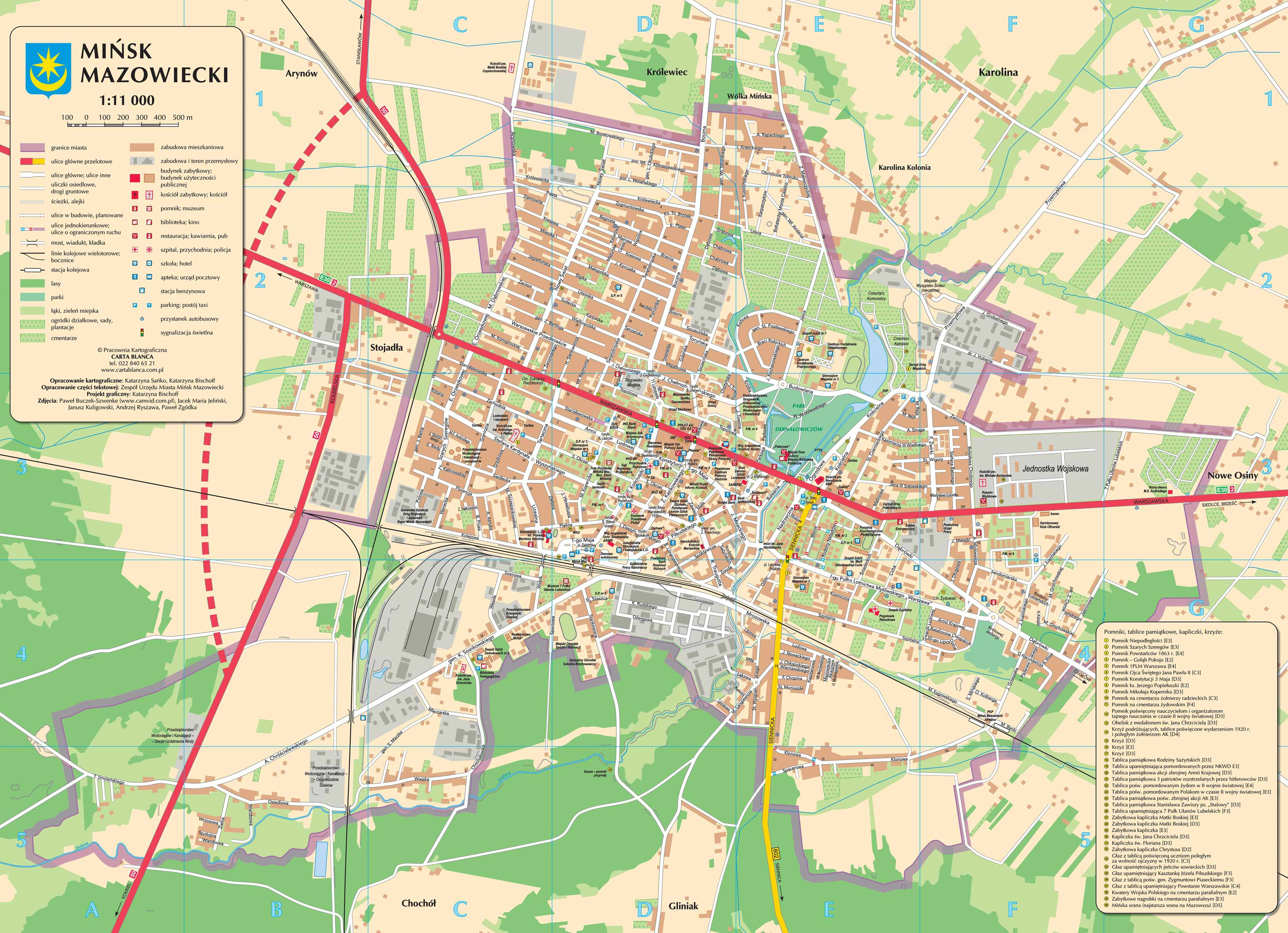 Large Minsk Maps for Free Download | High-Resolution and Detailed ...