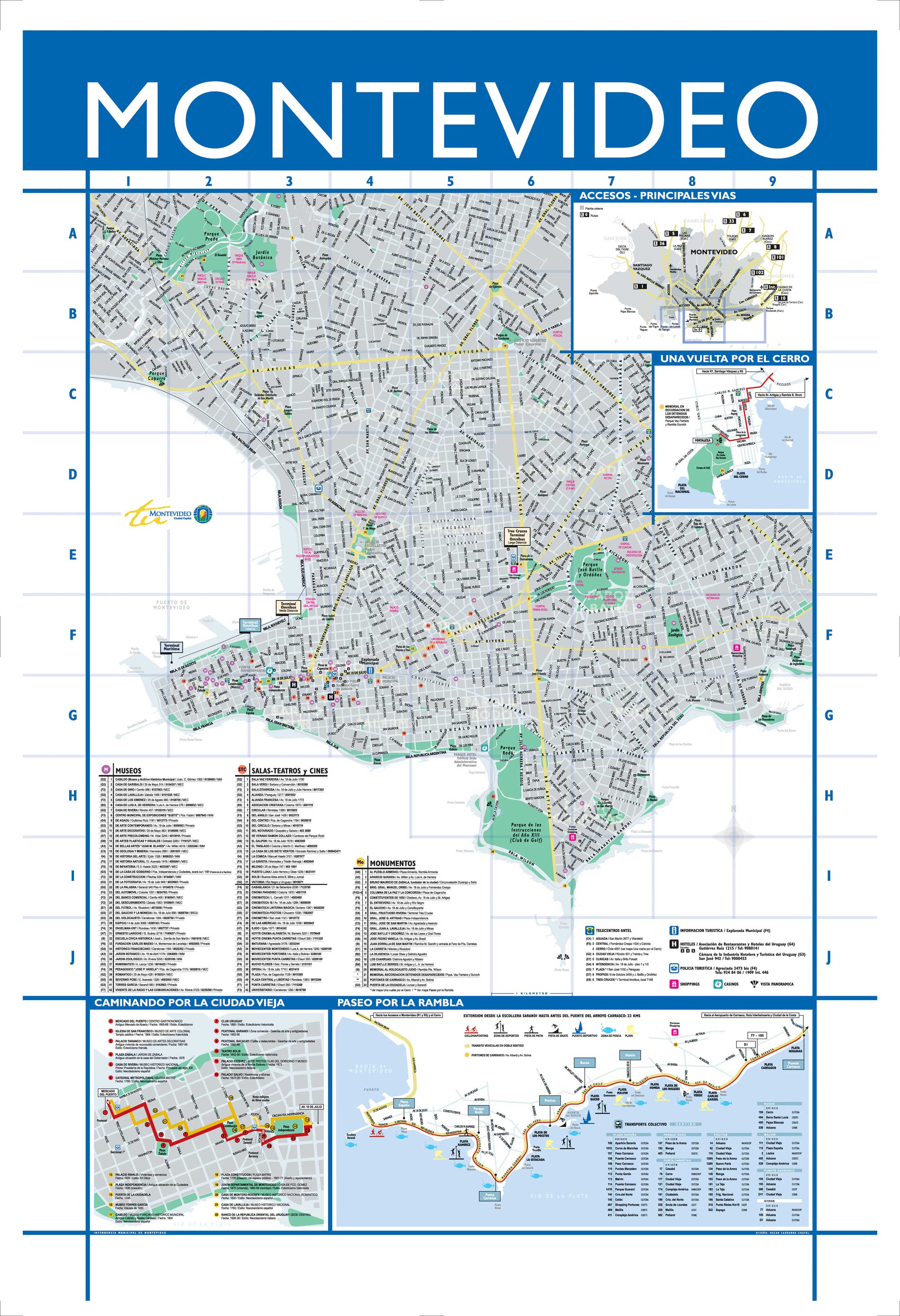 Large Montevideo Maps For Free Download And Print High - Montevideo map
