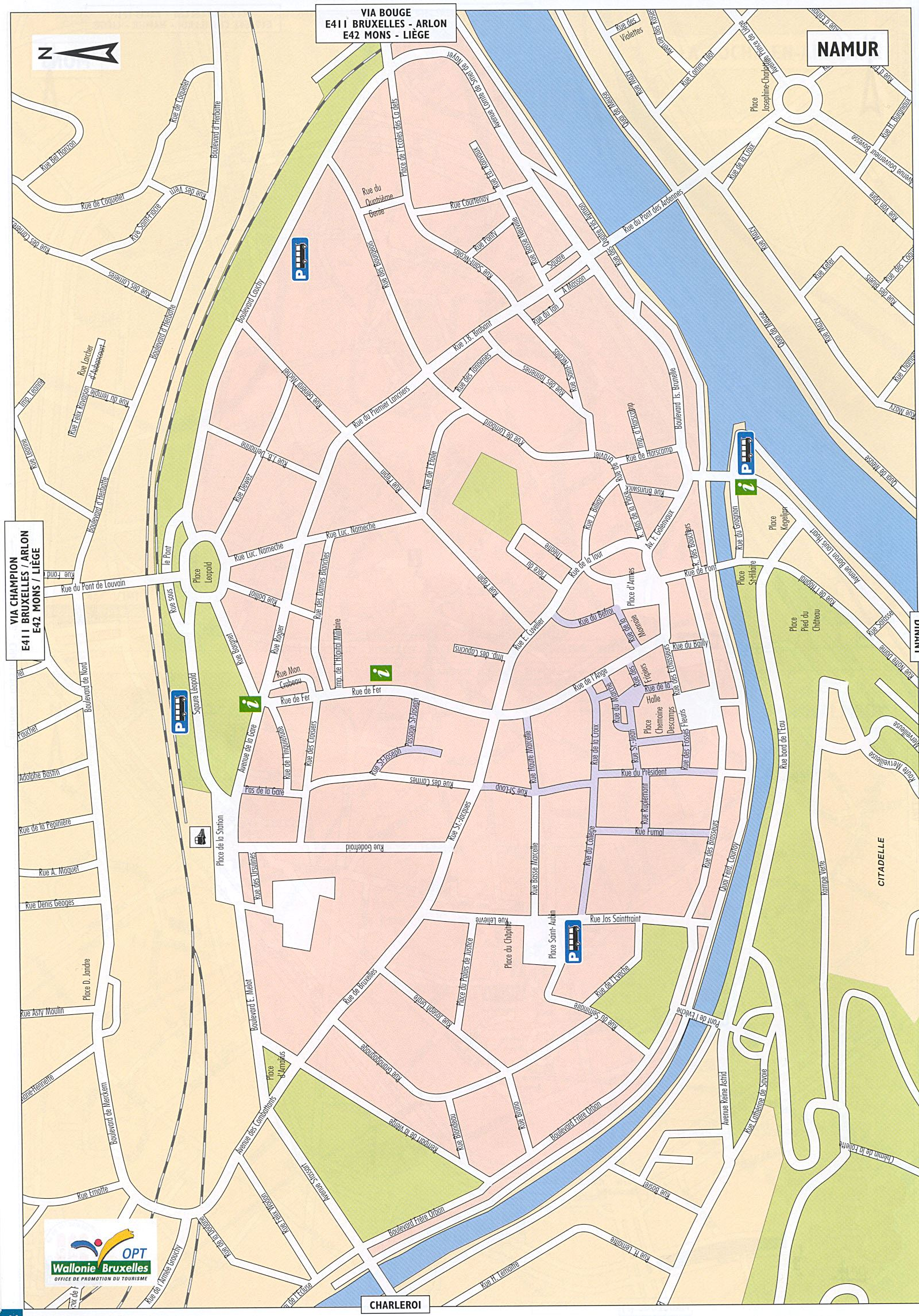 Large Namur Maps for Free Download and Print HighResolution and
