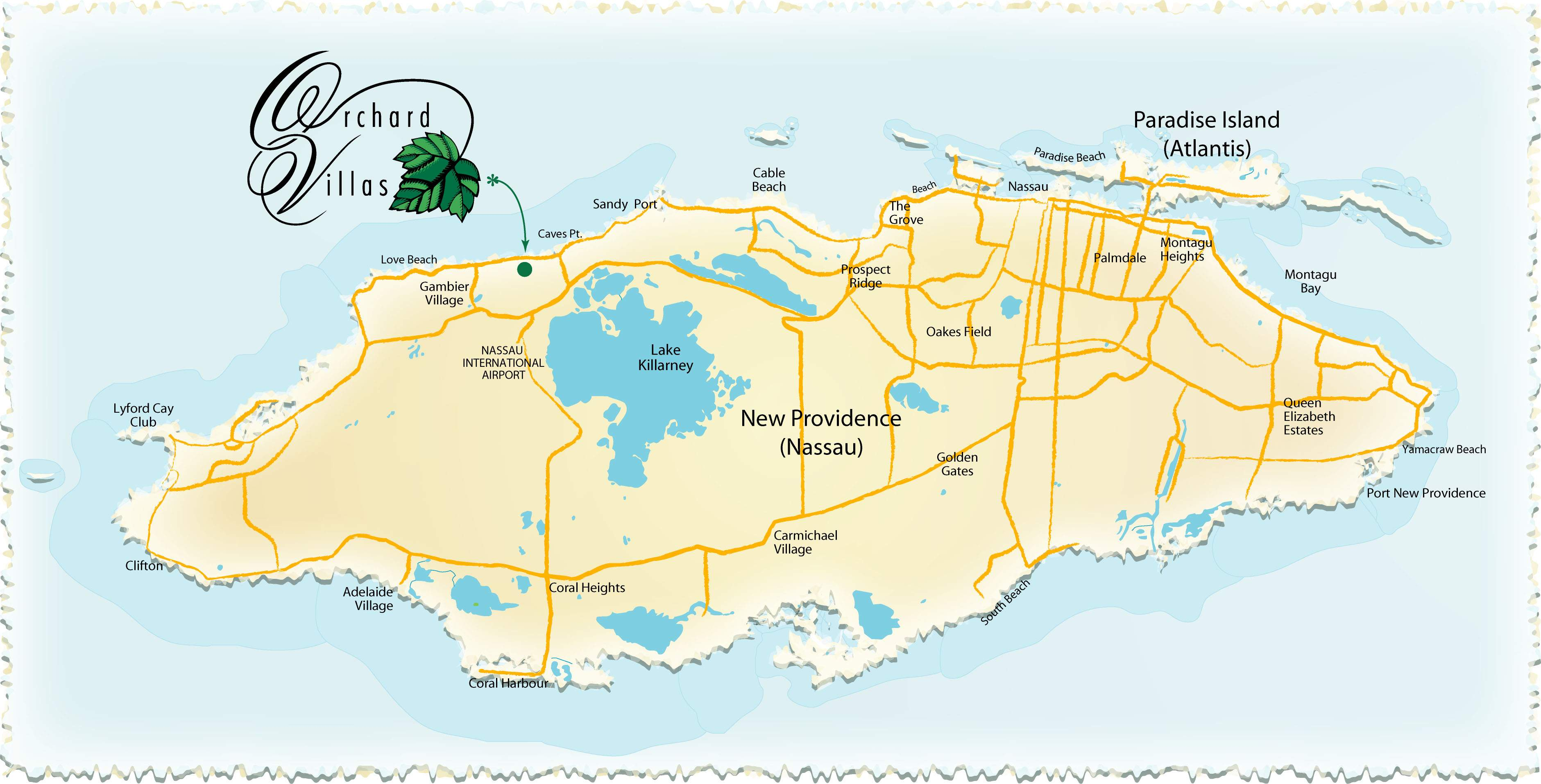 Map Of Nassau Large Nassau Maps for Free Download and Print | High Resolution  Map Of Nassau