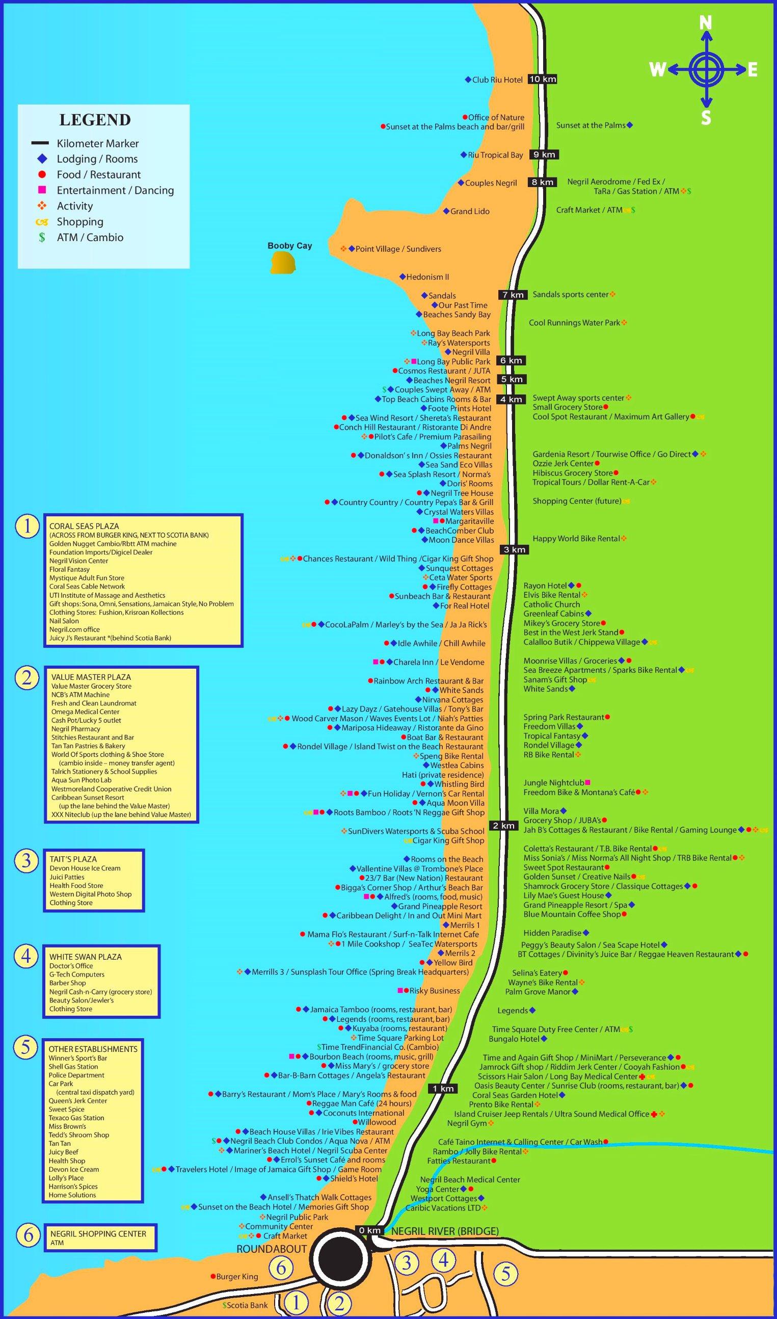 Карта негрил