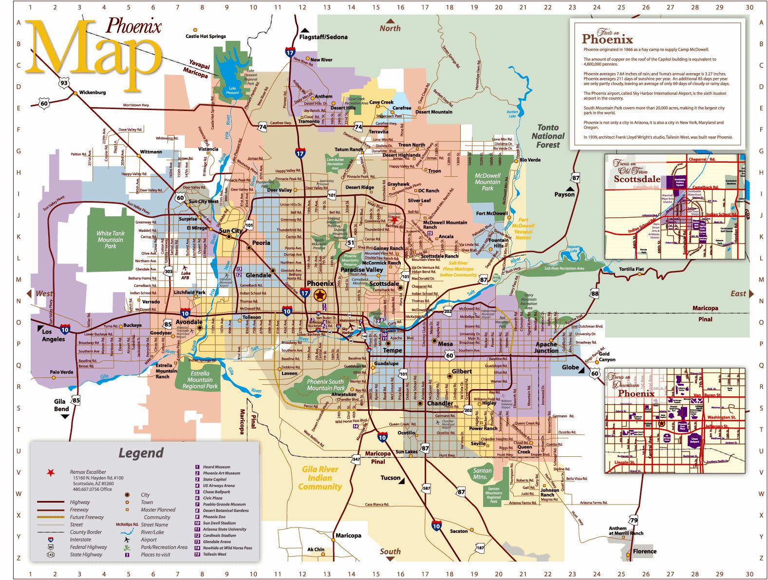 photograph about Printable Arizona Map named Huge Phoenix Maps for Totally free Obtain and Print Higher