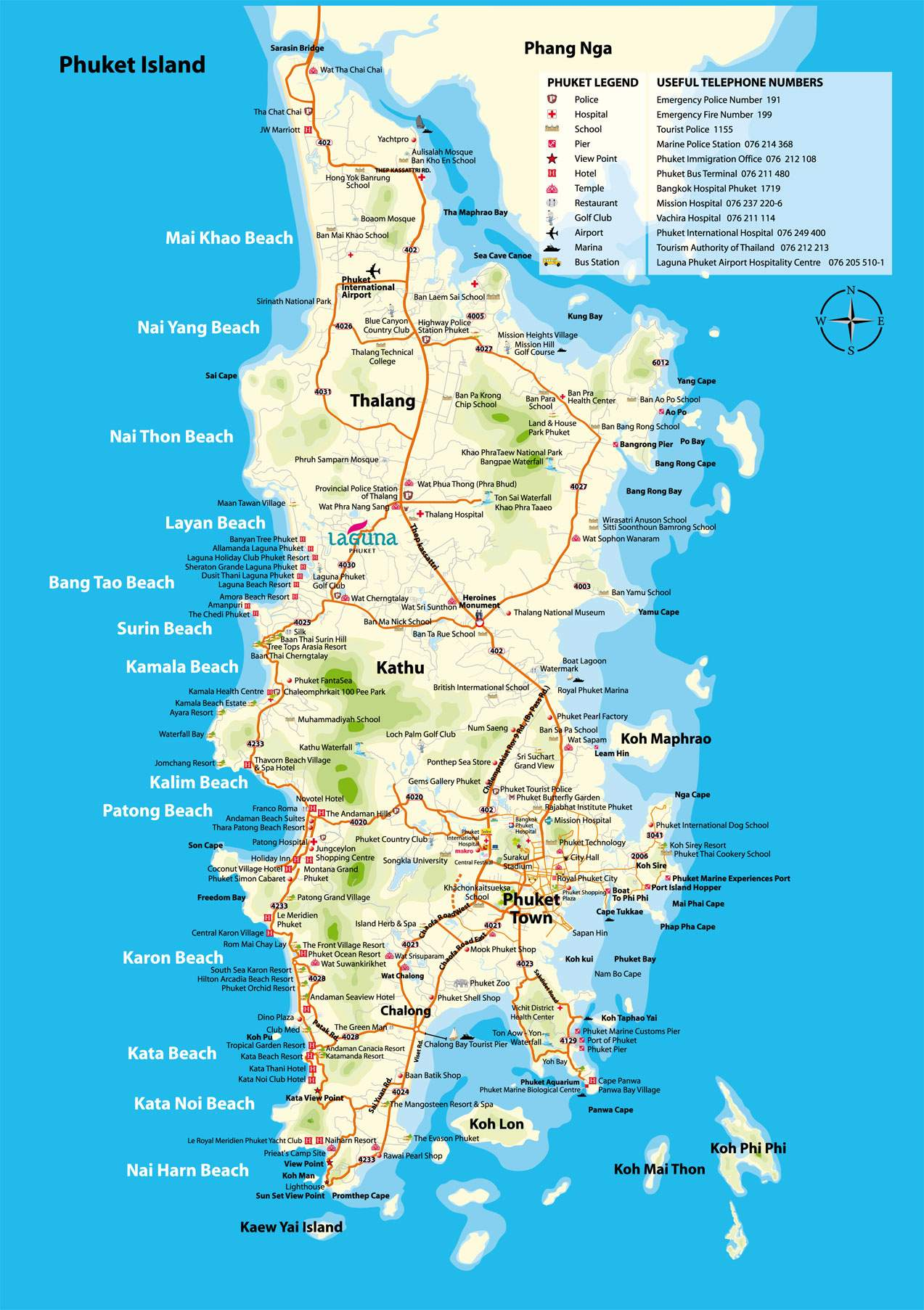 Large Phuket Maps For Free Download And Print High Resolution