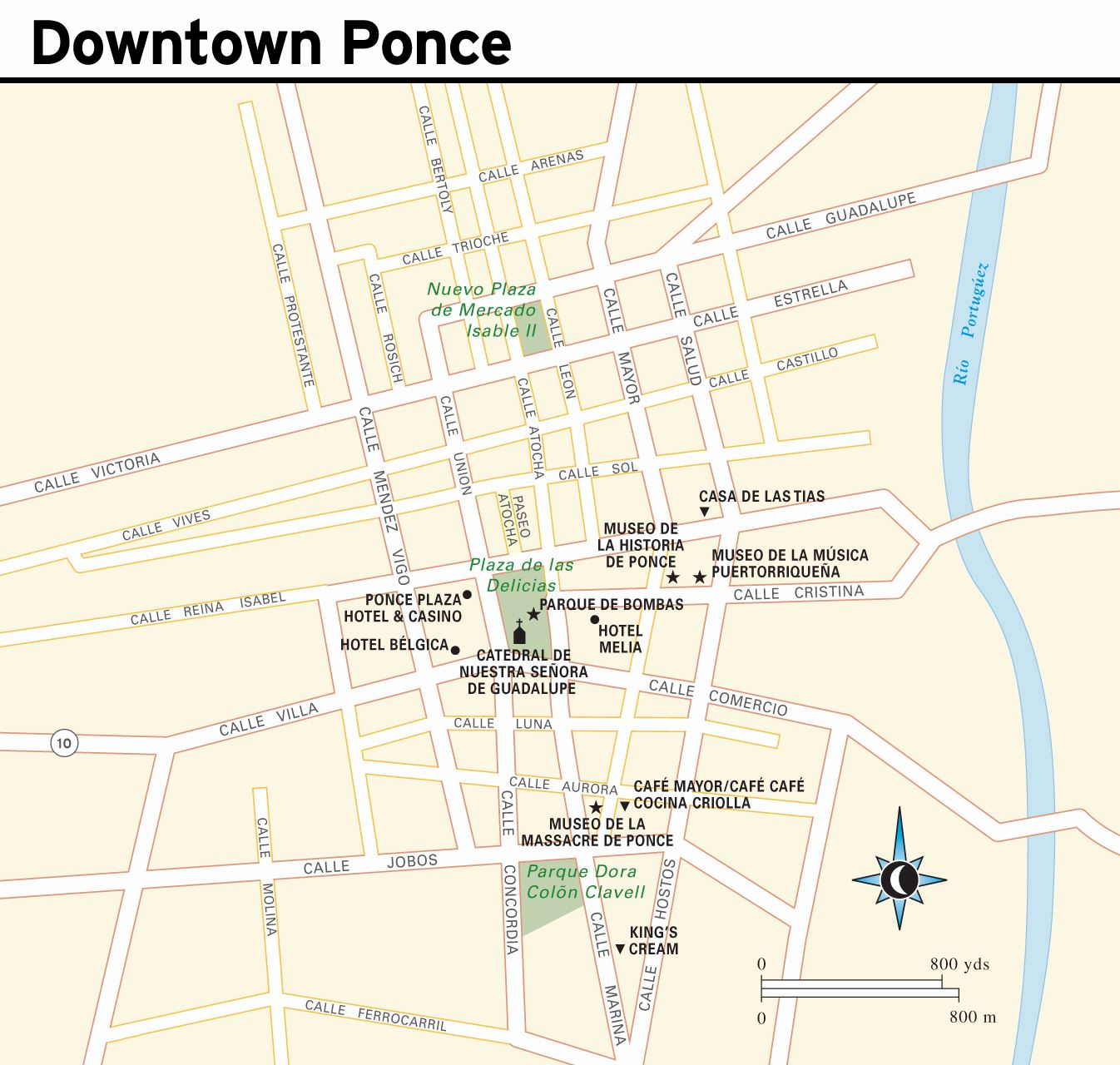 Large Ponce Maps for Free Download and Print HighResolution and