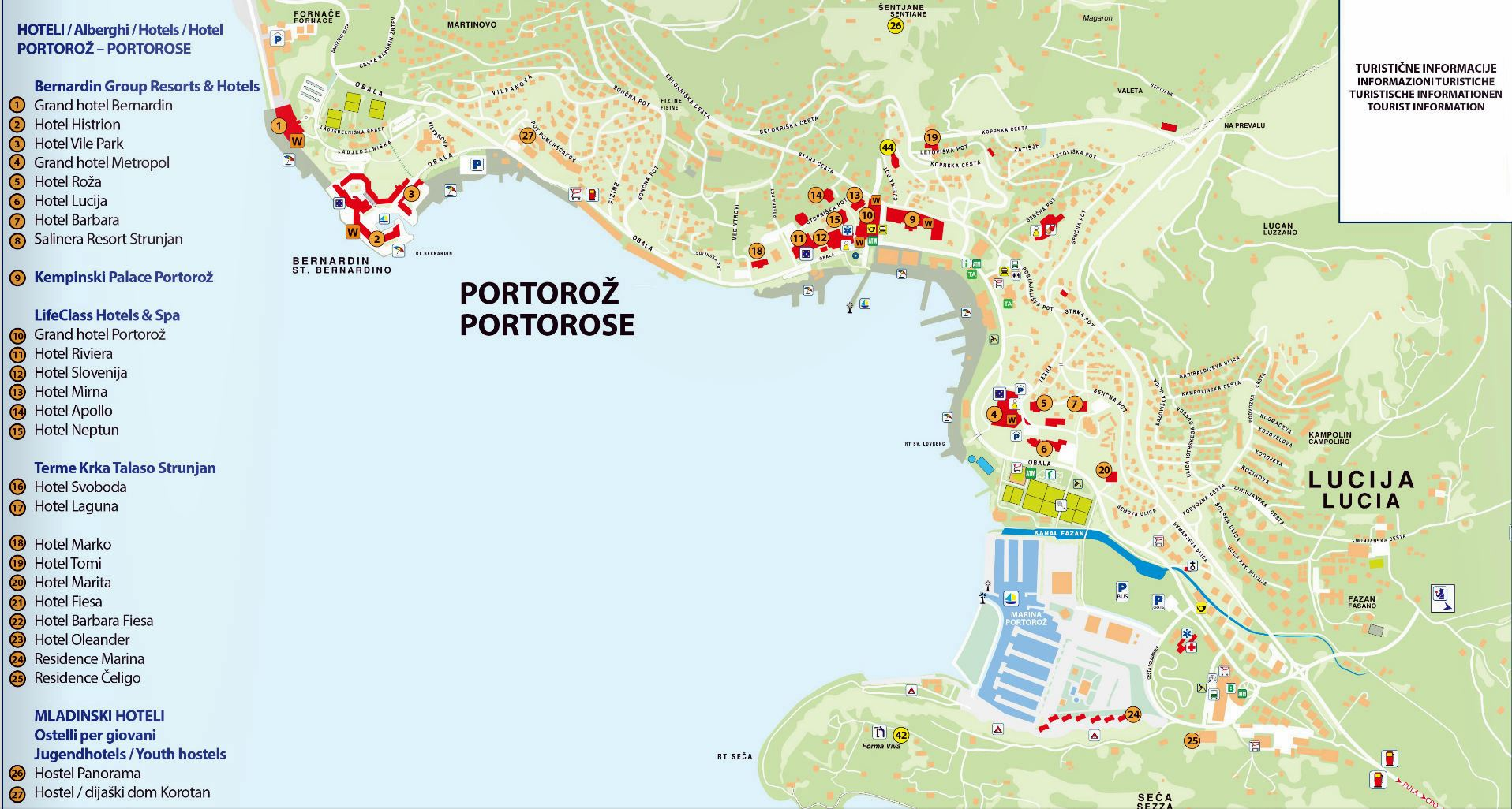 large map of portoroz 1