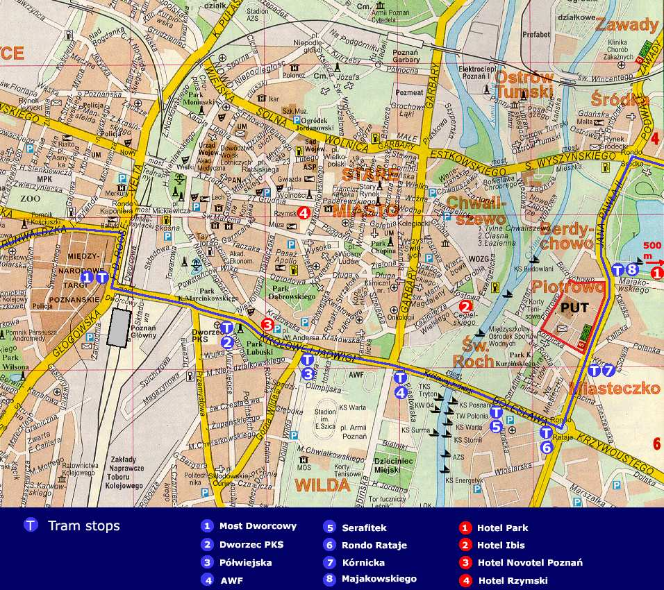 Large Poznan Maps For Free Download And Print High Resolution