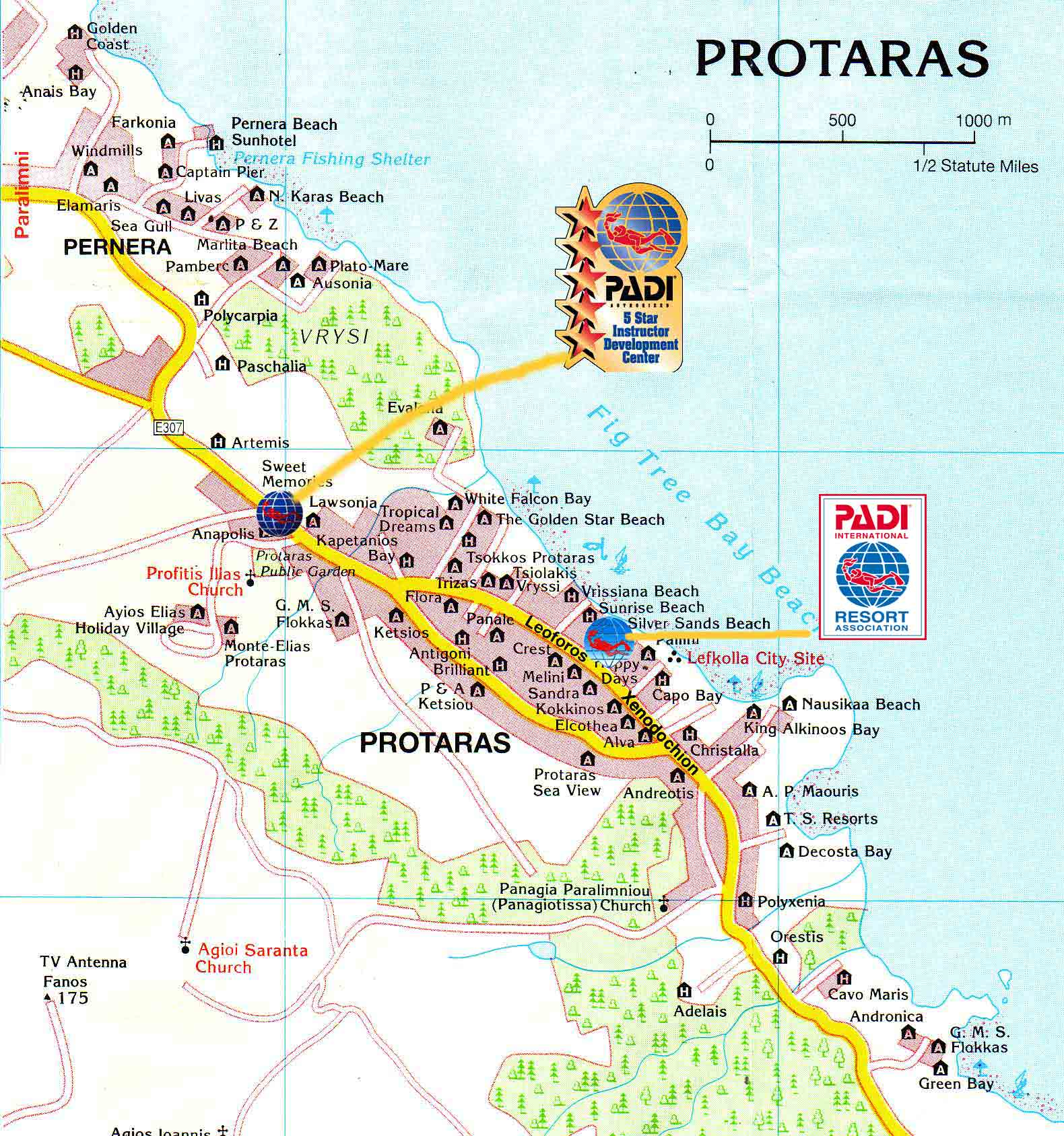 Large Protaras Maps for Free Download and Print HighResolution