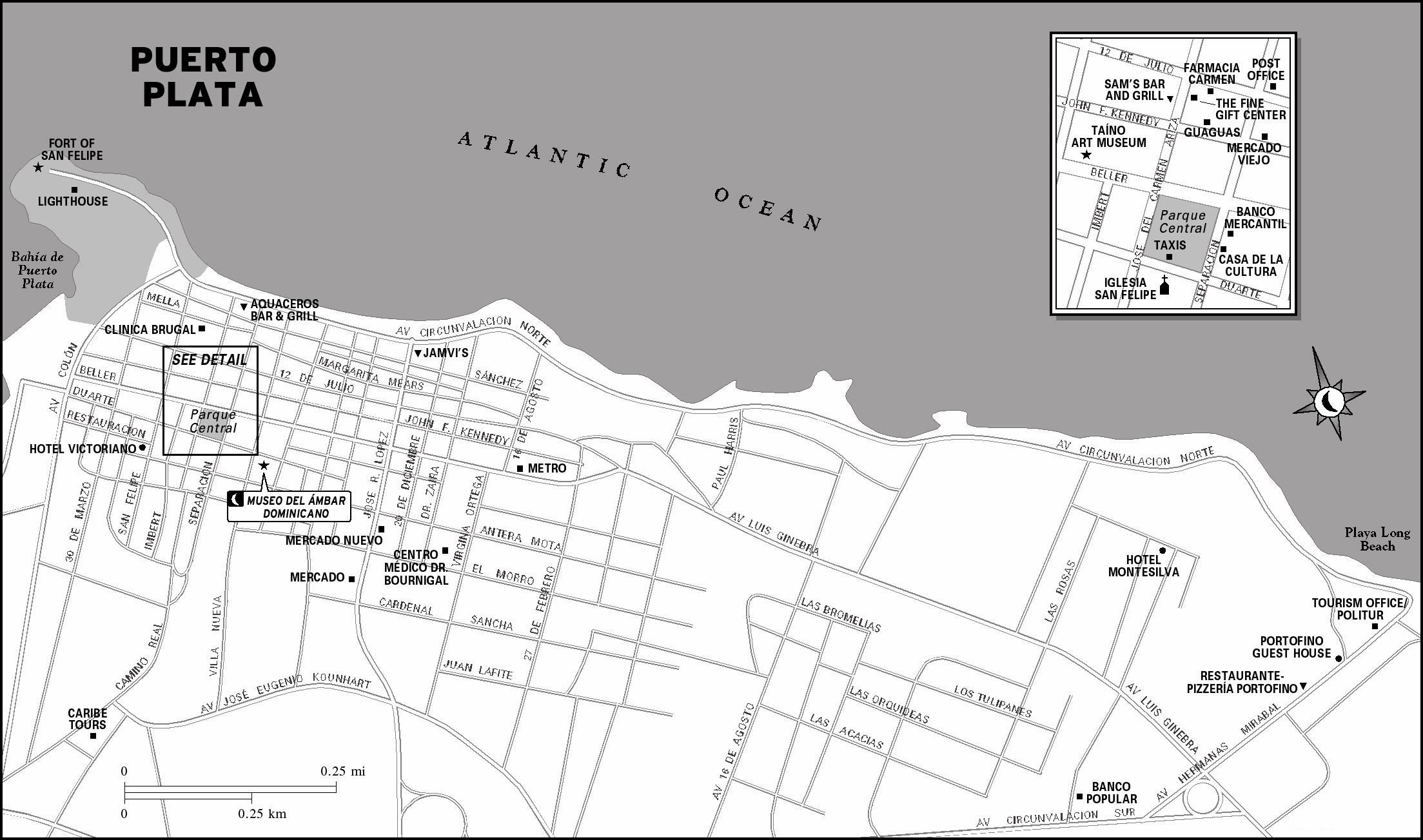 Large Puerto Plata Maps For Free Download And Print High