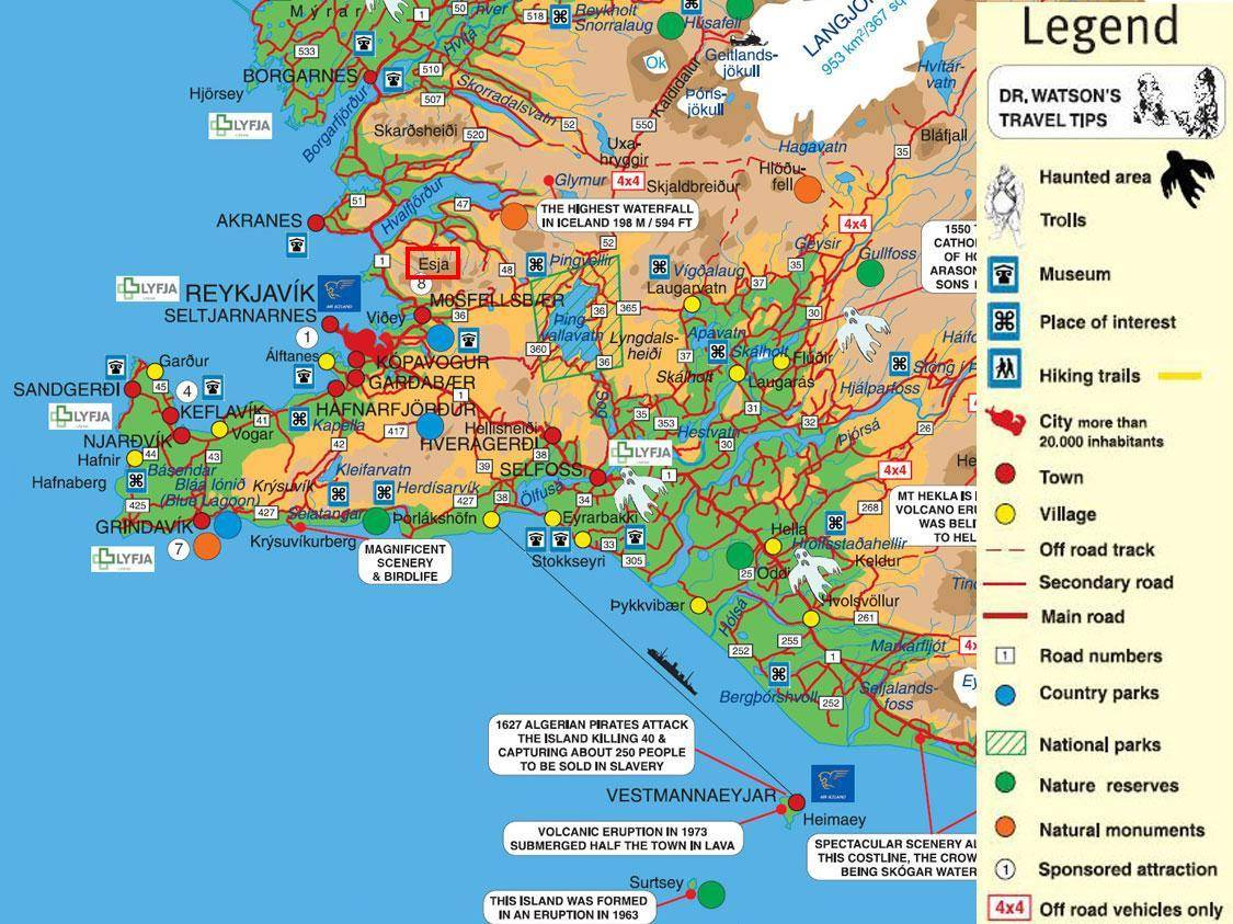 Large Reykjavik Maps for Free Download – Tourist Map Of Reykjavik