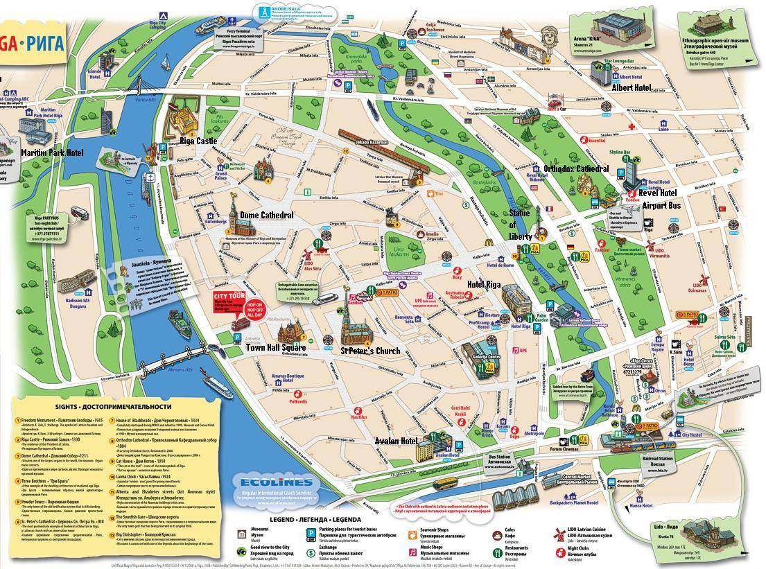 Large Riga Maps for Free Download – Stockholm Tourist Map