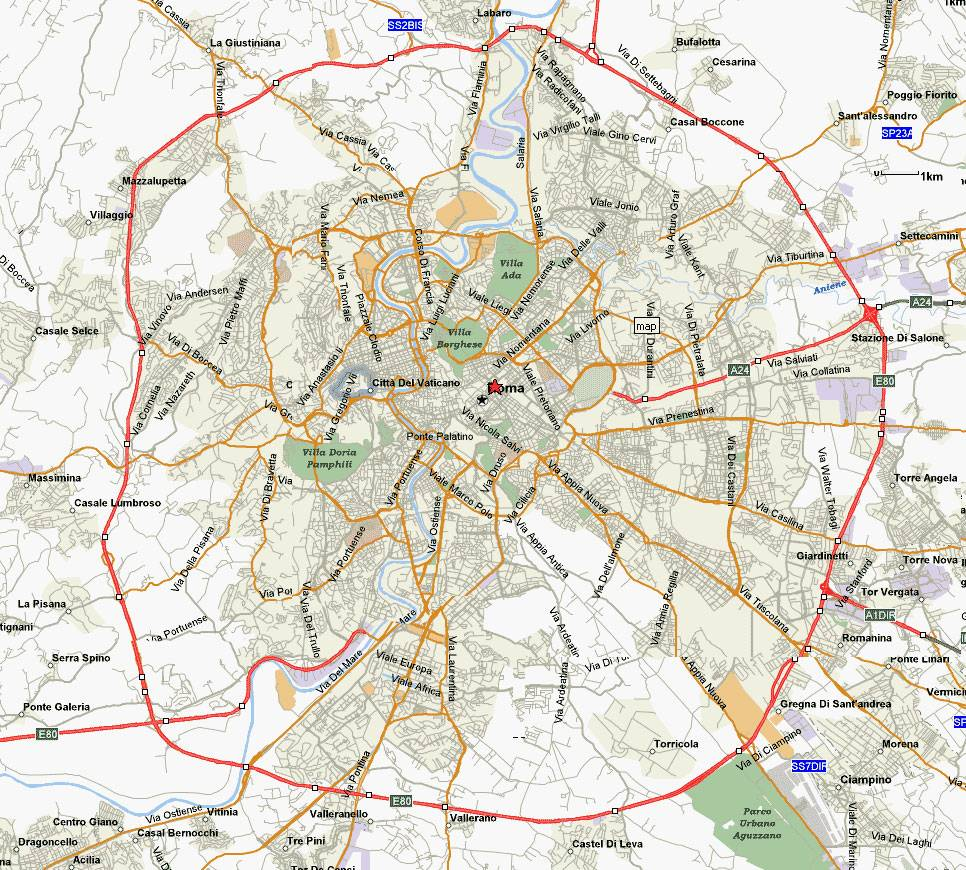 Map Of Rome Large Rome Maps for Free Download and Print | High Resolution and  Map Of Rome