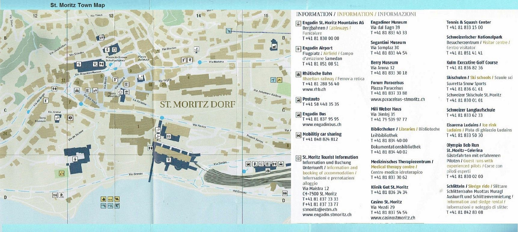 Large Sankt Moritz Maps for Free Download and Print High