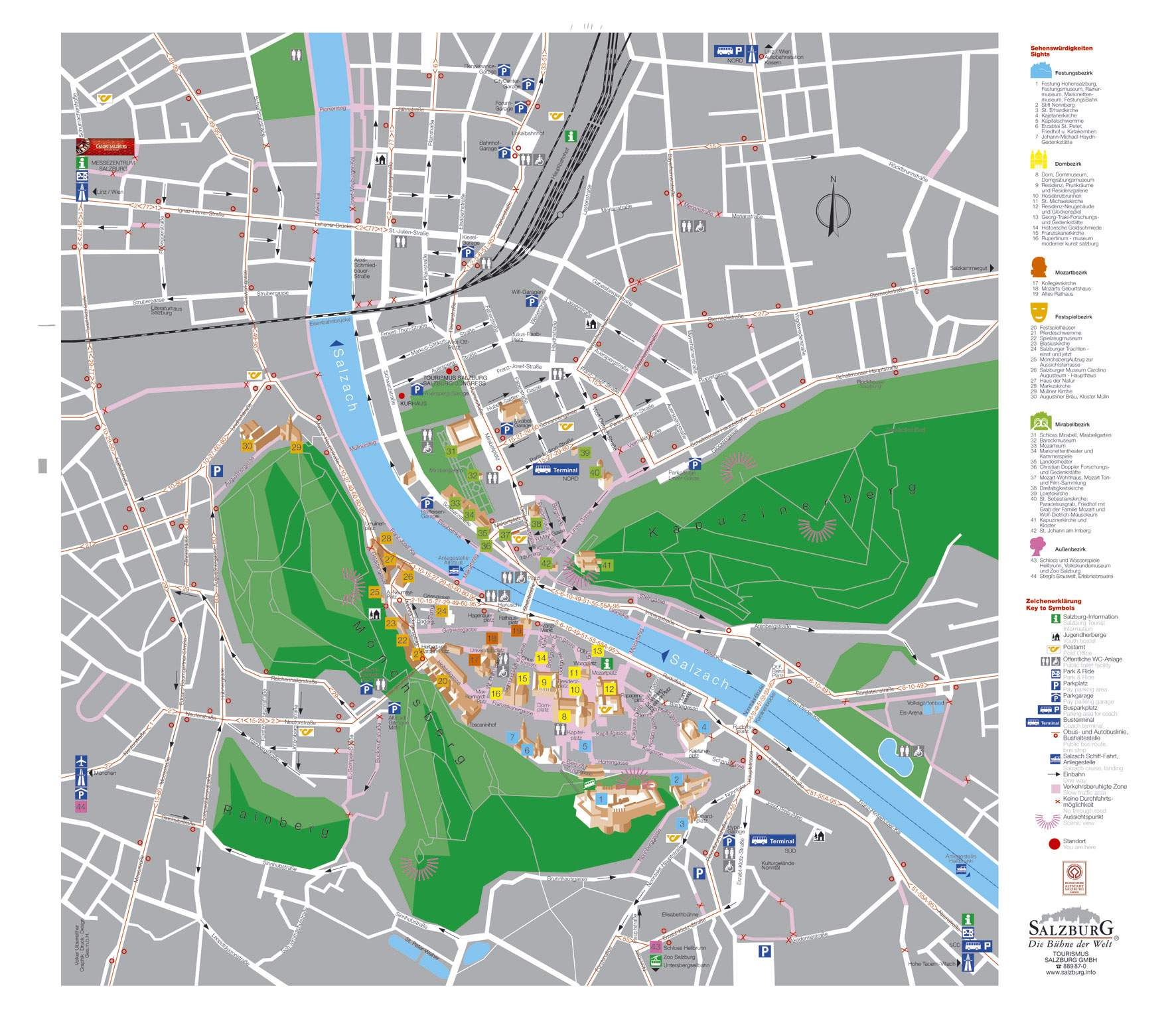 Large Salzburg Maps for Free Download and Print HighResolution