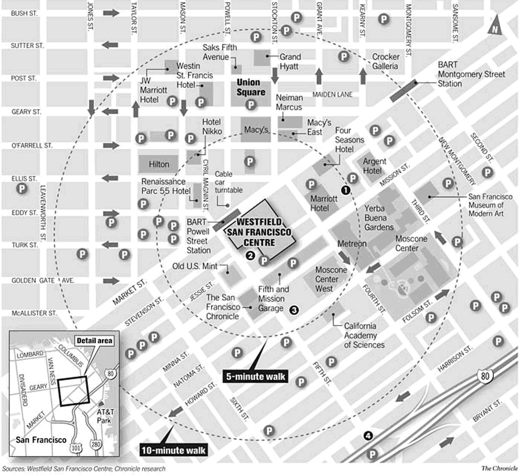 Mapas Detallados De San Francisco Para Descargar Gratis E Imprimir