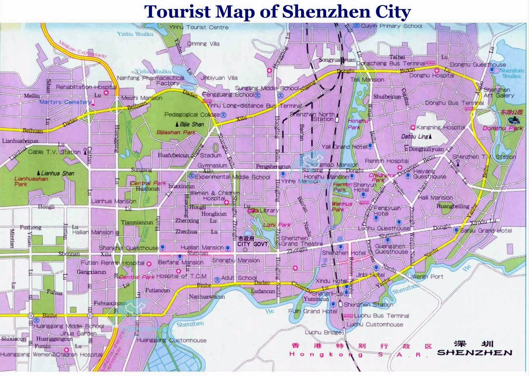 Hotels In Shenzhen City