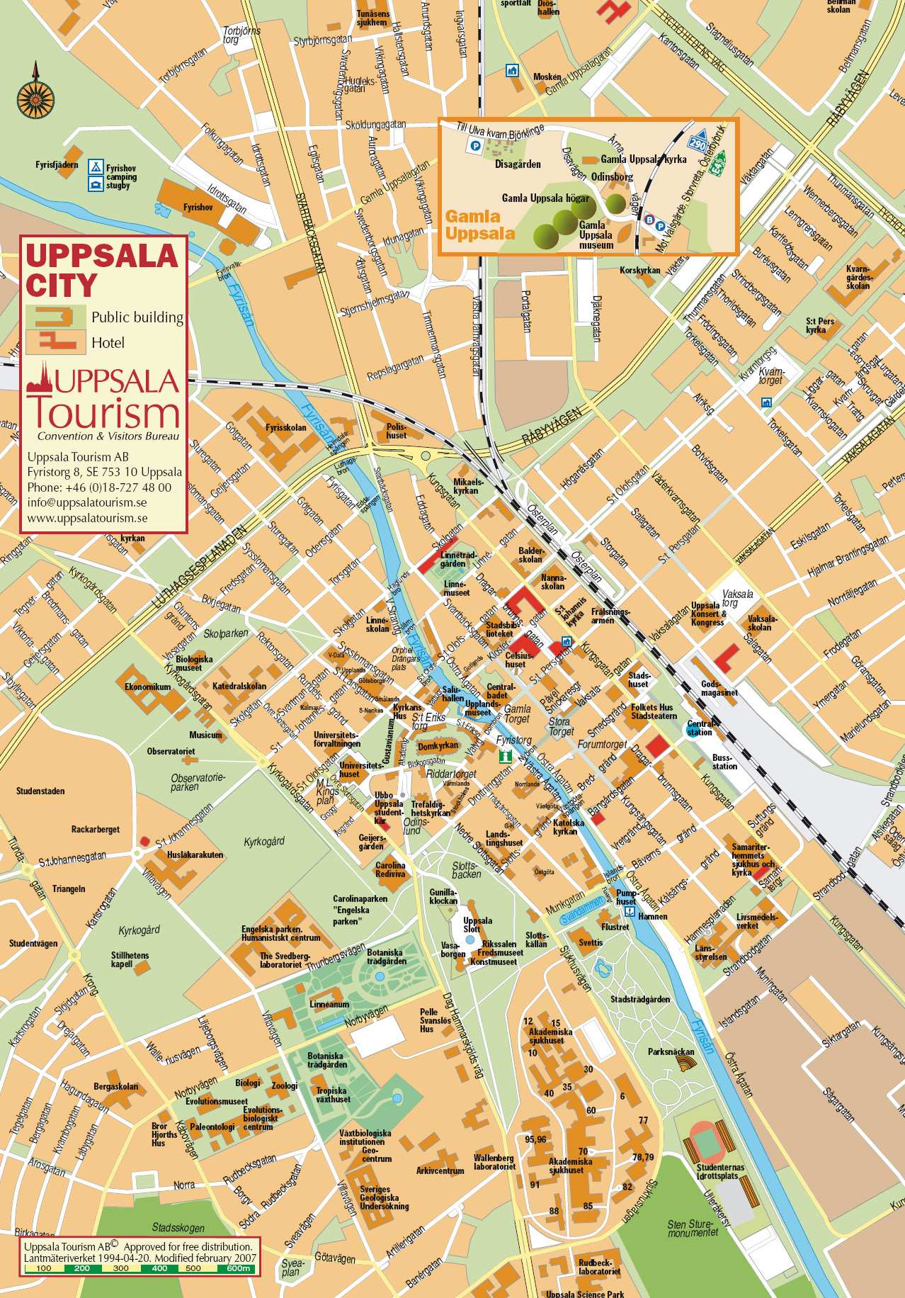 Large Uppsala Maps for Free Download and Print HighResolution and