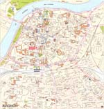 Map of Avignon