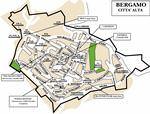 Bergamo kaart - OrangeSmile.com