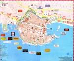 Map of Dubrovnik