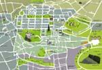 Edinburgh kaart - OrangeSmile.com