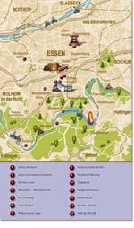Essen kaart - OrangeSmile.com