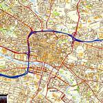 Glasgow kaart - OrangeSmile.com