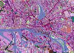 Mapa de Hamburgo