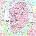 Map of Lubeck