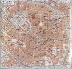 Map of Milan