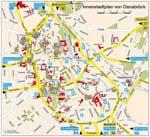 Carte de Osnabrück