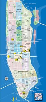 Carte de Manhattan