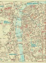 Praag kaart - OrangeSmile.com