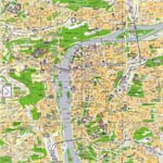Map of Prague