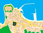 Map of Rethymno