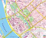 Map of Riga