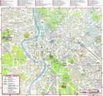 Map of Rome