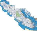 Vancouver kaart - OrangeSmile.com