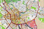 Carte de Wiesbaden
