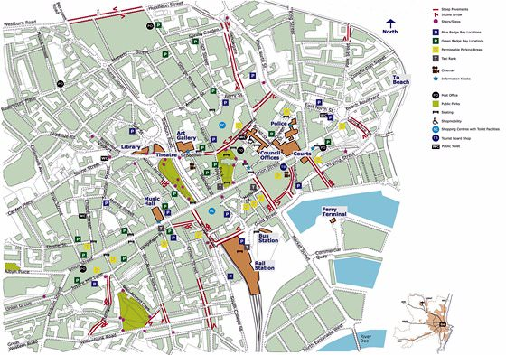 Карта Абердина 2
