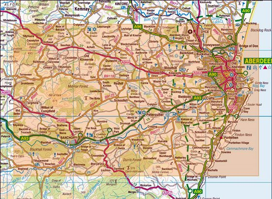 Карта Абердина 3