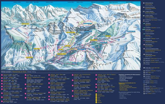 Large map of Adelboden-Lenk 1