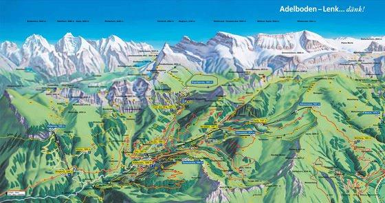 Detailed map of Adelboden-Lenk 2