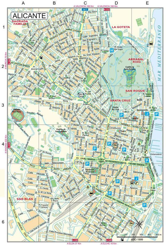 Alicante map 2