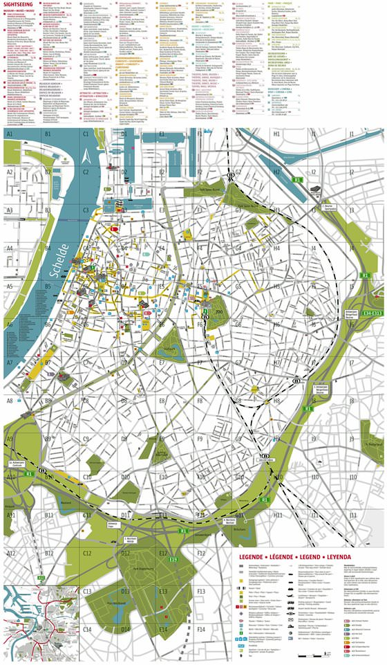 Large Antwerpen Maps For Free Download And Print High Resolution