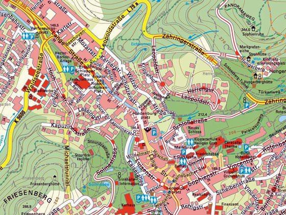 Baden-Baden map 1