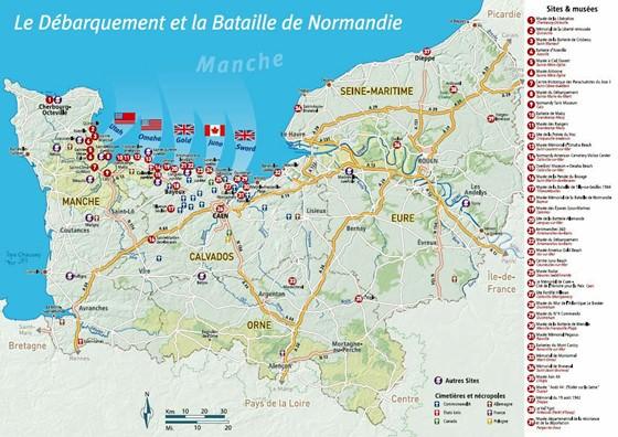 Karte von Basse-Normandie 2
