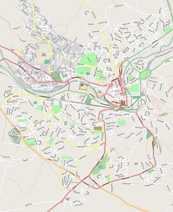 Gran mapa de Bath 3