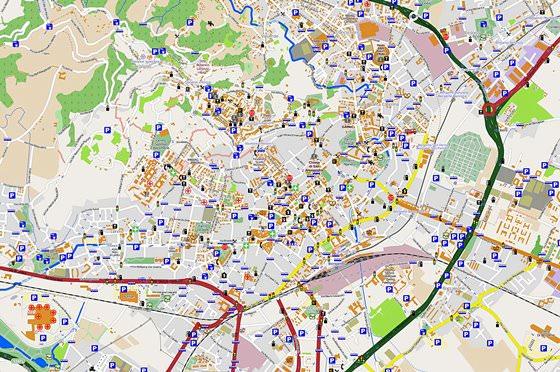 Bergamo map 3