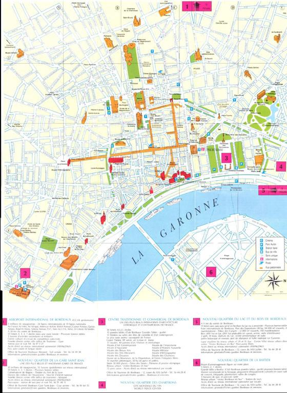 Bordeaux map 1