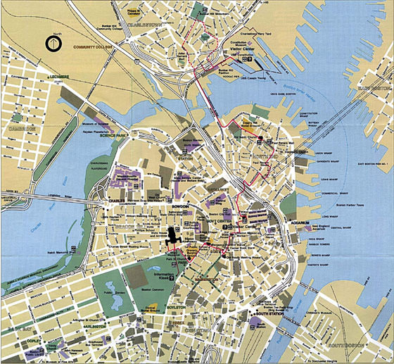 Boston map 2